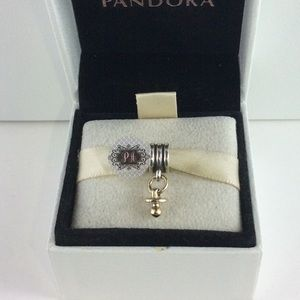 Pandora Retired 14k Gold Pacifier Charm 790234